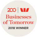 Westpac Business of Tomorrow 2017 & 2018 Winner
