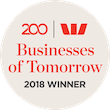 Westpac Business of Tomorrow 2018 Winner